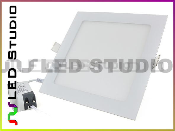 Lampa panel LED 18W SMD2835 230V Neutralna - kwadrat